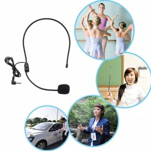 Headset Mic Audio reciver Microphone mini Bando