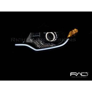 Custom Projector Angel Eyes + Hid + Drl Lexus Style City