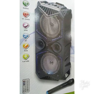 SPEAKER MP3 DAN MIC WIRELESS FLECO F1819 SPEAKER BLUETOOTH