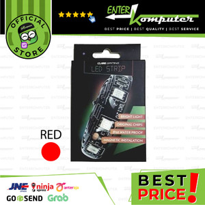 CUBE GAMING LED Strip Version 2.0 - Magnetic Instalation - 30cm - Red