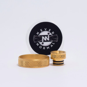 Never Normal chocker v2 set - 24k gold stainless steel