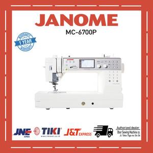 Mesin jahit portable Janome MC 6700p