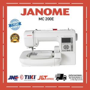 Mesin jahit bordir emboridery Janome MC 200E