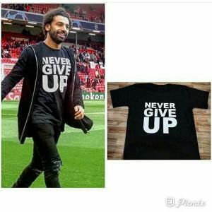 Never Give Up Kaos Liverpool 2019 Salah
