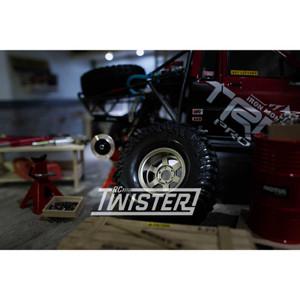 Boom Racing TE37XD KRAIT 1.9 Deep Dish Beadlock Wheels 4pcs - GUNMETAL