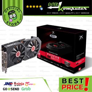 XFX Radeon RX 580 8GB DDR5 GTS OC - Dual Fan - RX-580P8DFD6