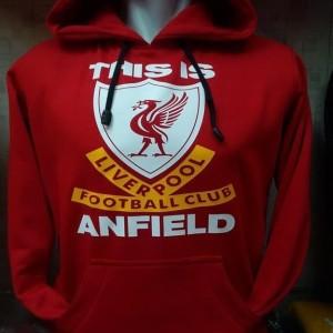 Jaket hoodie Liverpool this is anfield kode 01