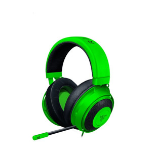 Headset Kraken- Multi Platform - Green -Wired Headset Gaming