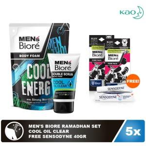 Men's Biore Ramadhan Set - Cool Oil Clear
