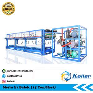 Mesin Es Balok DK150 (15 Ton Per 24 Jam)