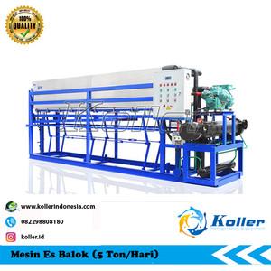 Mesin Es Balok DK50 (5 Ton Per 24 Jam)