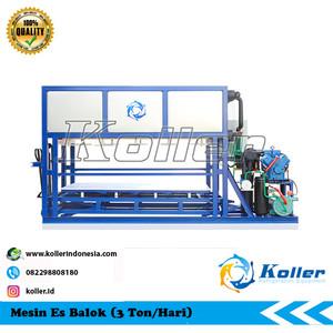 Mesin Es Balok DK30 (3 Ton Per 24 Jam)