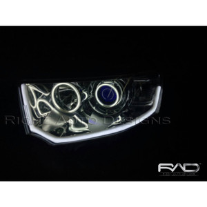 Headlamp Pajero Sport 2013 Custom Angel eyes(2set+devil eyes+Drl lexus