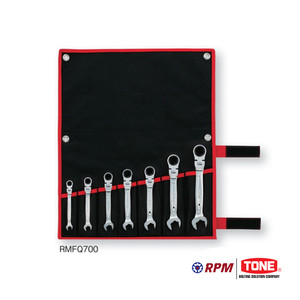 Tone Ratcet Ring Wrench Set Type RMFQ700