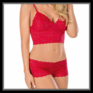 Bikini Setelan Pakaian Dalam BKN 04 Red