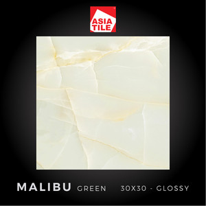 Asia Tile - MALIBU GREEN - 30x30cm - Glossy - FREE DELIVERY