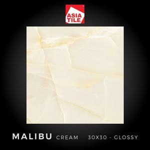 Asia Tile - MALIBU CREAM - 30x30cm - Glossy - FREE DELIVERY