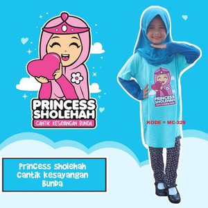 Baju Muslim Tunik Anak Perempuan Lucu Promo KODE = MC-329