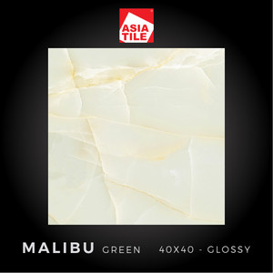 Asia Tile - MALIBU GREEN - 40x40cm - Glossy - FREE DELIVERY
