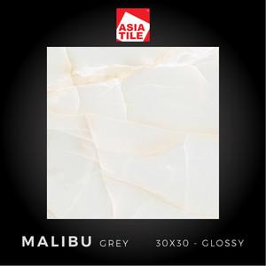 Asia Tile - MALIBU GREY - 30x30cm - Glossy - FREE DELIVERY