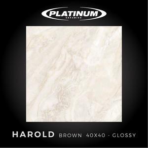 Platinum Ceramics - HAROLD BROWN - 40x40cm - Glossy - FREE DELIVERY