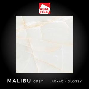 Asia Tile - MALIBU GREY - 40x40cm - Glossy - FREE DELIVERY