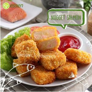 Nugget Salmon Keju Halal Homemade Essen 500gr