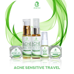 Acne Sensitive Travel Kit