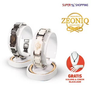 ZEONIQ - Gelang Kesehatan Terapi Gwisamunsok Germanium dan Titanium