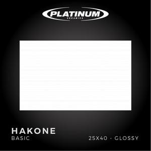 Platinum Ceramics - HAKONE BASIC - 25X40cm - Glossy - FREE DELIVERY