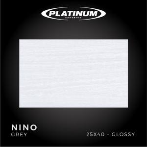 Platinum Ceramics - NINO GREY - 25X40cm - Glossy - FREE DELIVERY