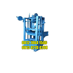 Mesin Cetak Batako-Paving Block Sistem Getar Kaki 4