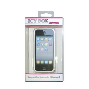 ICY BOX Metal Frame IB-i051 White Casing for iPhone 5 or 5S
