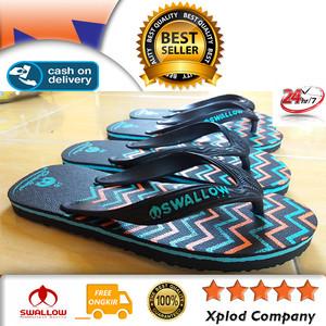 Sandal Jepit Swallow Zigzag Sandal Wanita Terbaru dari Swallow Size 38