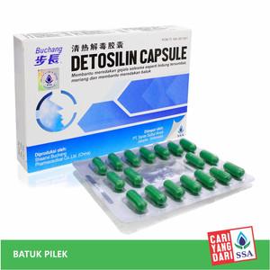 Detosilin Capsule 36s