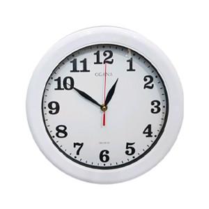 Jam Dinding Putih Polos Diameter 30 cm . Jam Dinding Murah Original .