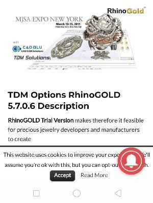 Jual RhinoGold 5 software jewelry Fullversion - DKI Jakarta - prayogo  mandiri | Tokopedia
