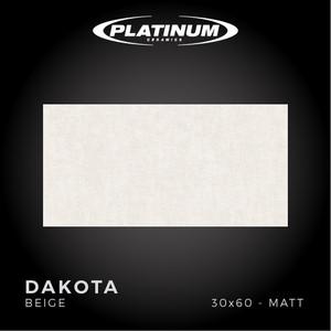 Platinum Ceramics - DAKOTA BEIGE - 30x60 - MATT - FREE DELIVERY