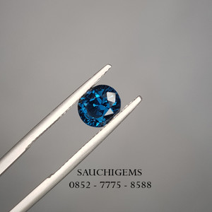 SG-081 TOP COLOUR BRILLIANCE BLUE COBALT SPINEL VERY RARE +CERTIFICATE