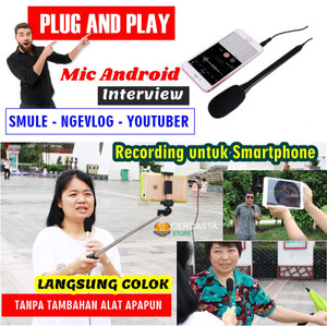 Mic Android Interview Recording untuk Smartphone
