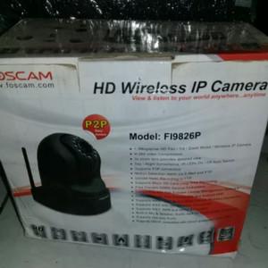 ip kamera cctv FOSCAM FI9826P bisa pantau dari manasaja dengan androi