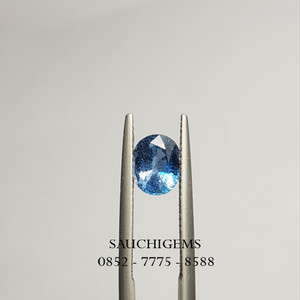 SG-085 VERY SPARKLING BRILLIANCE BLUE SAPPHIRE FROM SRILANGKA 1.18CT