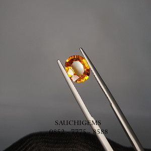 SG-088 HIGH QUALITY YELLOW SAPPHIRE VERY SPARKLING FROM TANZANIA 2.07