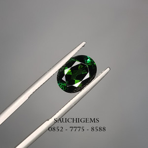 SG-086 TOP COLOUR VIVID GREEN TOURMALINE VERY SPARKLING BRILLIANCE