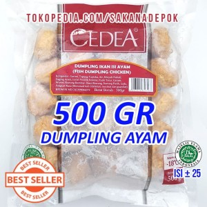 CEDEA Fish Dumpling Chicken 500gr isi Daging Ayam Seafood Steamboat