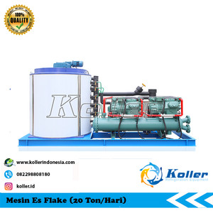 Mesin Es Flake KP200 (20 Ton Per 24 Jam)