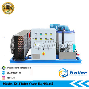 Mesin Es Flake KP5 (500 Kg Per 24 Jam)