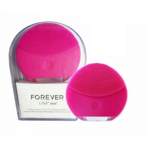 FOREO LUNA / FOREVER LINA MINI PEMBERSIH WAJAH MAKE UP CLEANSING BRUSH