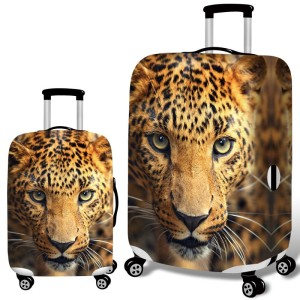 Travel Luggage Cover Suitcase Protector Fits for 18-32 Inch Luggage Avocado Hula Hoop XL