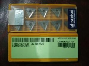 Insert TNMG 16 04 02R-NX2525 merk mitsubishi baru